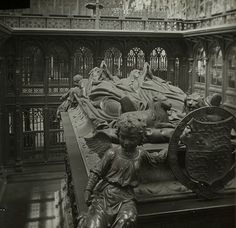 I'm going to see this for myself one of these days. Tomb of Henry VII and Elizabeth of York, Westminster Abbey, c. 1910