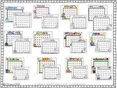 DJ Inkers monthly calendars