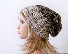 Instant Download Knitting Pattern Knit Slouchy by natalya1905