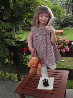 "Susan's Nest -  Mitzi by ""Susan Lippl - Doll's"""
