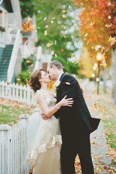 Gorgeous Fall Wedding! See more on Style Me Pretty:  http://www.StyleMePretty.com/2014/02/21/fall-hood-canal-vista-pavilion-wedding/ Manchik Photography