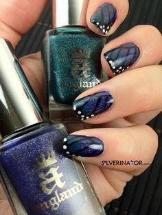 butterfli nail, butterflies, nailart bellashootcom, nail nailart, beauti, nails, nail design, holo butterfli, nail art