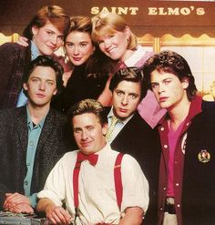 St. Elmo's Fire. Favorite. I <3 80's flicks.