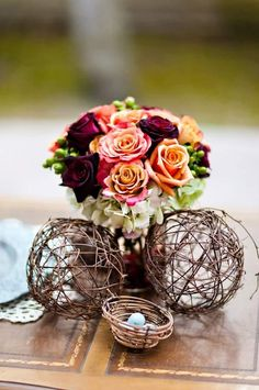 #bird wedding theme