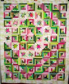 T-Watermelon Punch by Linda Rotz Miller Quilts & Quilt Tops, via Flickr