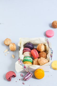 macarons / Le Parisien magazine #food