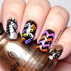 Halloween Nails  by Blackqueennails from Nail Art Gallery