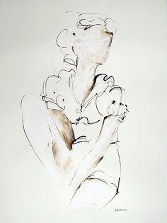Austin artist Kiah Denson #art #sketch #texas #austin #artist #woman #fashion