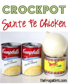 Crockpot Sante Fe Chicken Recipe! ~ from TheFrugalgirls.com ~ this simple dinner dish takes just a few minutes of effort and is SO delicious! #slowcooker #recipes #thefrugalgirls