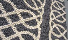 nautical rugs | Nautical Knot Rug- Gray