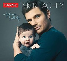 New dad Nick Lachey released an album of lullabies on March 13, 2013, and the cover image for the new album looks like one of those awful cheesy stock photos that comes with a new picture frame.  Now if Nick's wife Vanessa Minnillo was on the cover in a bikini, it would sell some serious copies.