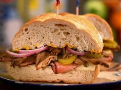 Sandwich King slow cooker pork Cuban sandwich