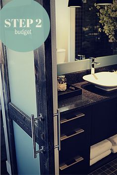 The budget is (more than) half the battle! Next we're talking tips for creating and managing your bath remodeling budget.
