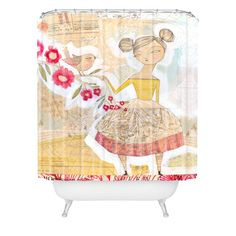 Cori Dantini The Secret To Happiness Shower Curtain | DENY Designs Home Accessories