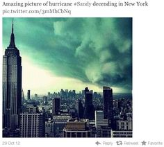 7 Fake Hurricane Sandy Photos You're Sharing on Social Media