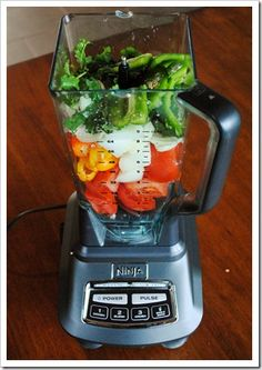 Reader Request: Homemade Salsa in the Ninja Blender