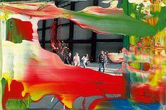 Gerhard Richter, enamel on color photograph, 2011
