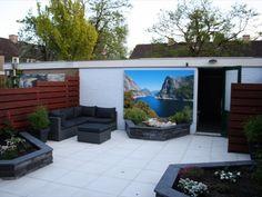 Tuin ideeen on pinterest tuin outdoor kitchens and vans - Tuin ideeen ...
