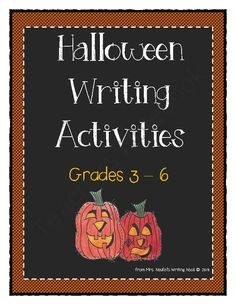 Halloween Writing from Mrs. Naufal's Nook on TeachersNotebook.com -  (25 pages)  - This writing guide include descriptive, procedural and information writing visuals.  Students will write an Onomatopoeia Poem, Halloween Recipe and Informational Text about Bats.