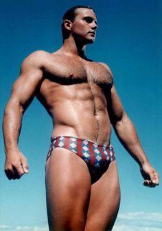 Cool retro look swimsuit