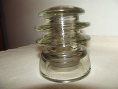 Armstrong Clear Insulator Triple Groove Pony Style by ThatOneThing, $3.00