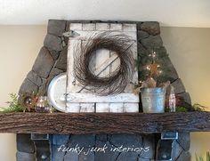 cute idea for old barn wood