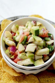 Apple and Avocado Salsa & 30 Labor Day Recipes