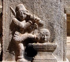 Talakad Vaideyswara Temple Carving. To read more, please click here: http://bit.ly/wHWzeq