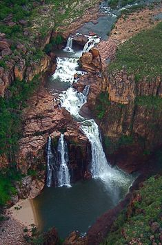 The falls of Kakadu National Park | 34 Reasons Australia Is The Most Beautiful Place On Earth #travel  #australia