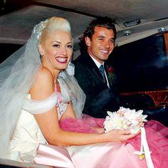 Gavin Rossdale + Gwen Stefani #celebrity #wedding