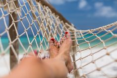 Relaxing at The Manta Resort