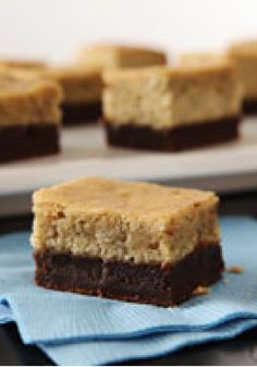 Banana Brownie-Bottom Cake -- A banana cake with a brownie base is an absolutely divine dessert combination!