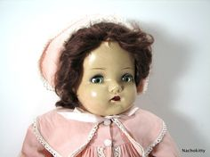 Huge 1930s Madame Alexander Doll, Composition, Original Clothes, $1025.00