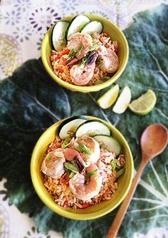 Shrimp Fried Rice... from http://circahappy.com/
