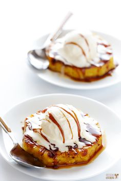 Easy Rum-Soaked Grilled Pineapple #recipe from @gimmesomeoven