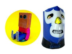 Marky and Chicano Mask Cubotoy