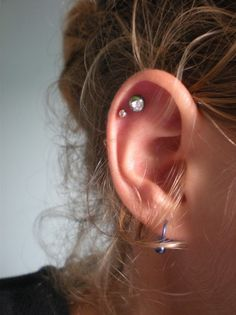 I want to get a double cartilage piercings on my left ear... SOON