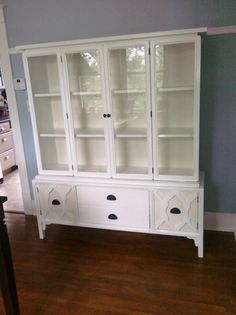 Before/After DIY Hutch