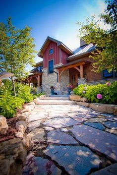 traditional exterior by Renae Keller Interior Design, Inc.