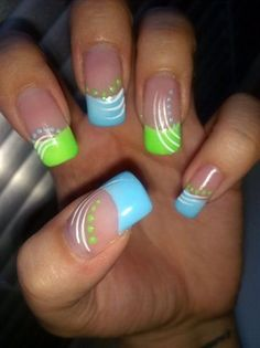 Colorful nails - Your own fashion
