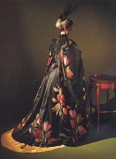 Ravishing 1889 Worth Coat. costum, frederick worth, fashion, dress, gowns, hous, charl frederick, tulips, coat