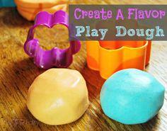 Create A Flavor Play Dough #playdough #playdoughrecipes #flavorcreations