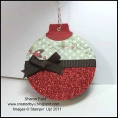 Santa's Key Ornament Card