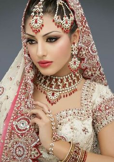 indian people pictures | Indian Brides with Eastern Makeup Indian Brides with Eastern Makeup 1 ... wedding sarees, wedding dressses, indian weddings, asian style, indian wedding dresses, bridal makeup, bridal jewellery, indian bridal, wedding outfits