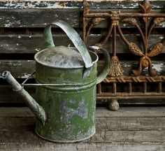 Love old Watering Cans!