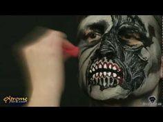 Zombie Makeup How-to, Gangster Zombie Halloween Makeup Tutorial
