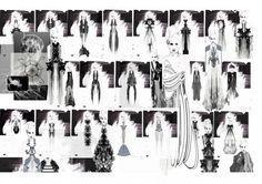 Fashion Portfolio - fashion design development - dress design drawings; fashion sketchbook // Oda Svendgard