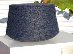 Blue Suede Marl Yarn 1/12 acrylic. Knit 2 strands tension 7