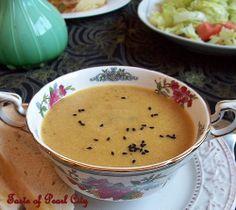 Pressure cooker - lentil soup