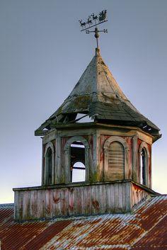 cupola on the barn